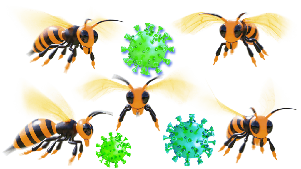 corona-virus-bee